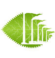 Bad ecology vector image vector image