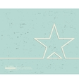 Creative star Art template vector image