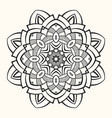 mandala creative circular ornament vector image vector image