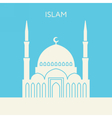 Mosque icon Islam building vector image vector image