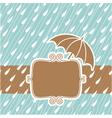 raining background vector image vector image