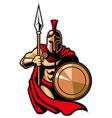 spartan army vector image vector image