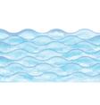 watercolor wave vector image vector image