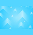 white dotted arrows on blue background vector image
