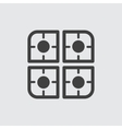 Cooker icon vector image vector image
