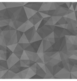 Geometric seamless pattern from triangles vector image vector image