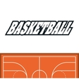 League of Basketball sport design vector image vector image