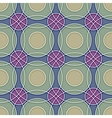 Seamless Ceramic Circles Background vector image vector image