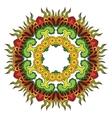 Thai mandala vector image vector image