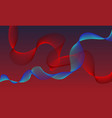 a red and blue abstract backgroundvarious shapes vector image