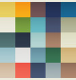background with multicolor squares vector image