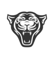 Panthers head logo for sport club or team Animal vector image vector image