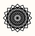 sacred geometry 0084 vector image vector image