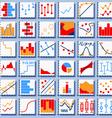 Stats Element Set vector image