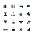 B2B icons set vector image