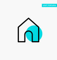 home instagram interface turquoise highlight vector image vector image