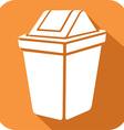 Recycle Bin Icon vector image vector image