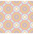 seamless pattern tile with mandalas vintage vector image vector image