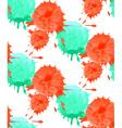 Watercolor dot pattern vector image
