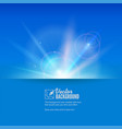 abstract space background with blurred light rays vector image vector image