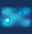 abstract technology digital background vector image vector image