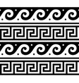 ancient greek seamless pattern - traditional vector image vector image