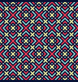 color geometric seamless pattern vector image vector image