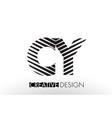 cy c y lines letter design with creative elegant vector image vector image