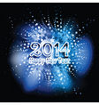 happy new year background with a star design vector image vector image