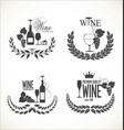 label set for restaurant and cafe vector image vector image