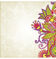 ornate abstract floral background