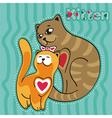 kitten 3 vector image