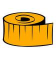measuring tape icon icon cartoon vector image