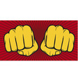 Two fists vector | Price: 1 Credit (USD $1)