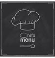 Restaurant Chefs menu design vector image