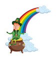 st patricks day cartoon vector image vector image