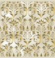 vintage floral seamless pattern element damask vector image vector image