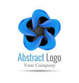 Logo Design Template Abstract Wing Icon for your vector image