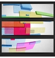 Abstract Rectangle Banner vector image