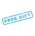 Free Gift Rubber Stamp vector image vector image