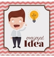 idea concept design vector image vector image