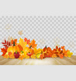 nature autumn background happy thanksgiving vector image vector image