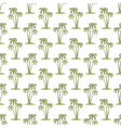 Palms pattern vector image vector image