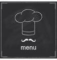 Restaurant menu deisgn vector image