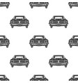 retro auto seamless vintage car pattern vector image