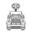 robot-character vector image vector image