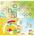 textures and backgrounds vector image vector image