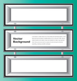 White Box Shelves vector image vector image