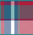 asimetric check plaid pixel seamless pattern vector image vector image