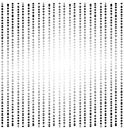 Bright dots halftone background vector image